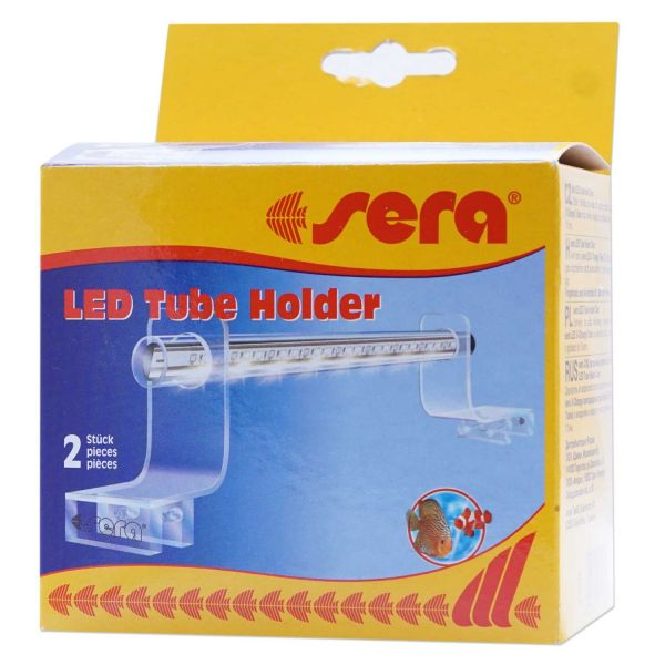sera LED Tube Holder Clear -Accrylglashalterung für Ihre Sera LED