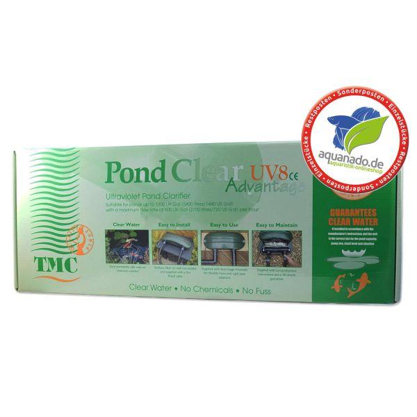 TMC Pond Clear UV8 Advantage – Ultraviolet-Teichklärgerät