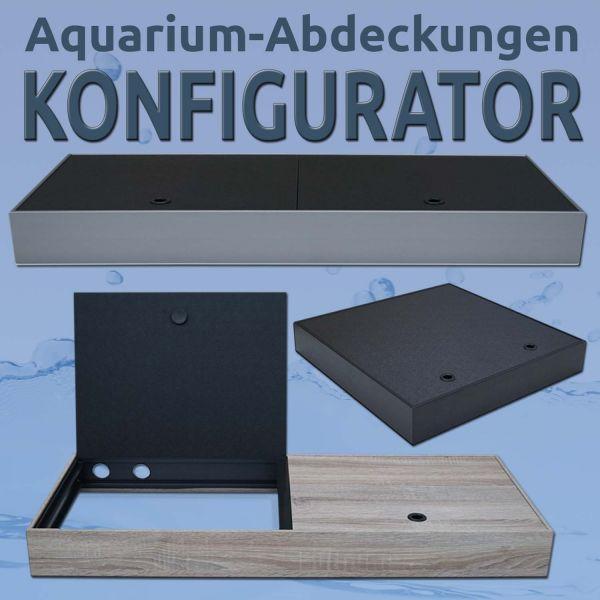 aquacando Aquarium Abdeckungen KONFIGURATOR