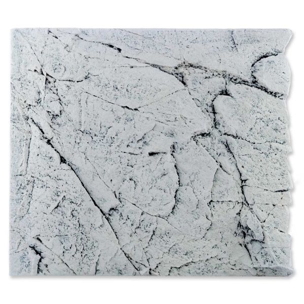 Back to Nature White Limestone 50 Slimline Rückwand H: 45 cm