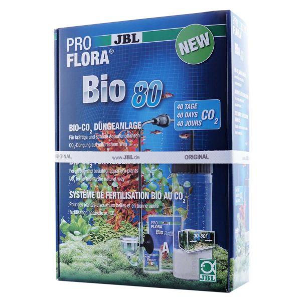JBL ProFlora Bio80 2 | Bio-CO2-Düngeanlage mit Glasdiffusor